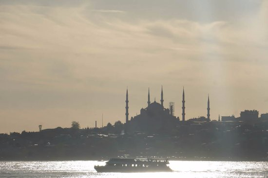 My Local Guide Istanbul Tours: Views from bosphorus strait - While on taste tour