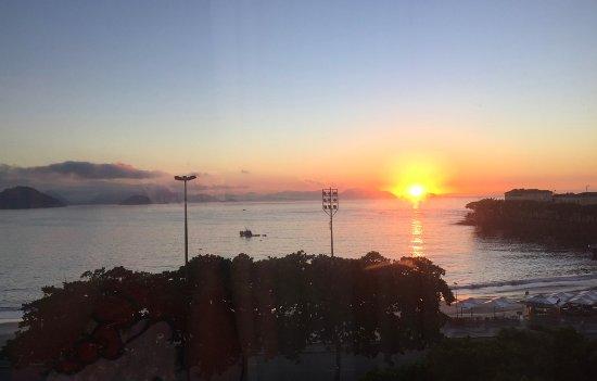 Orla Copacabana Hotel: vista desde la habitacion
