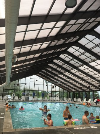 Indoor Pool Activity Center Picture Of Holiday Inn Club