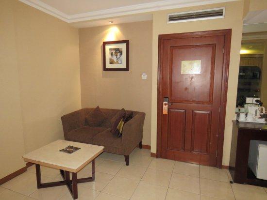 Grand Setiabudi Hotel Ruang Tamu