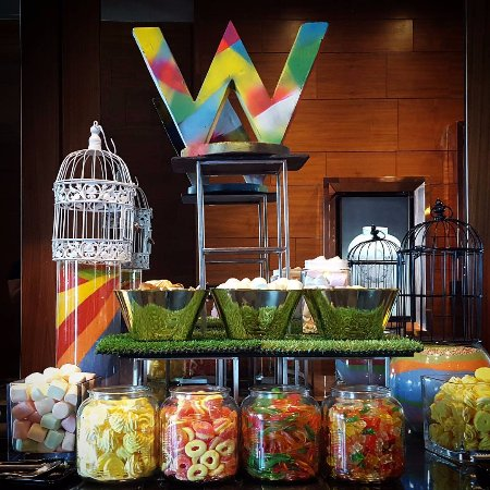 Candy station at Kitchen Table at W Hong Kong - Picture of W Hong ...
