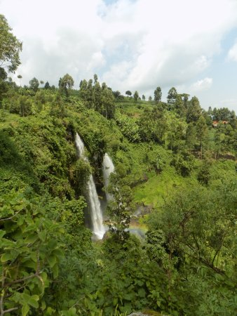 African Adventure Travellers Day Tours : First of three waterfalls