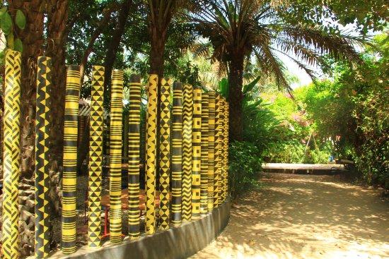 Ziguinchor, Senegal: Jardin de l'Alliance Française - 1