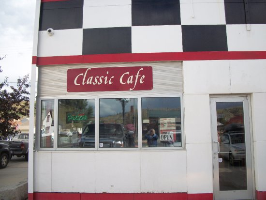Anaconda, MT: This Cafe really is a Classic!