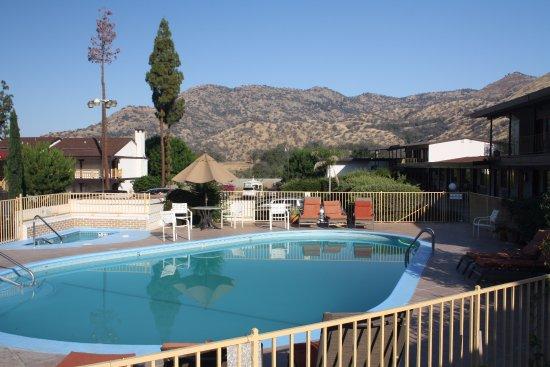 Three Rivers, CA: Wel een lekker zwembad