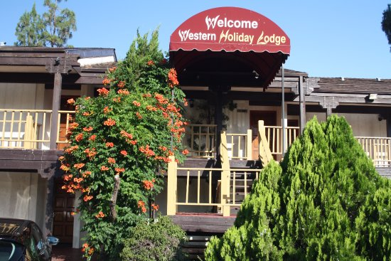 Three Rivers, CA: een ietwat gedateerd hotel