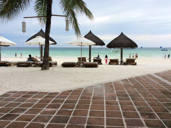 Friday's Boracay: Seen from the restaurant
