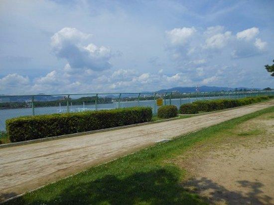 Zugaike Park: とにかく暑い
