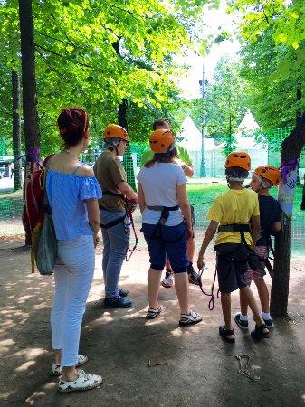 PandaPark Sokolniki Rope Park