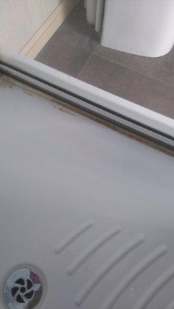 Dymchurch, UK : Shower door