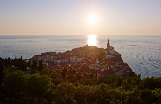 Hotel Mirna - LifeClass Hotels & Spa: Sunset in Piran