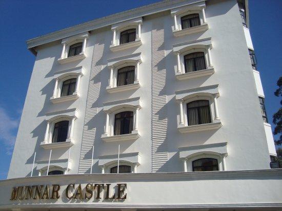 Munnar Castle: front view