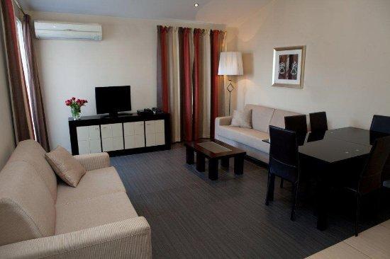 Villa Carnot: Salon de l'Appartement Présidentiel