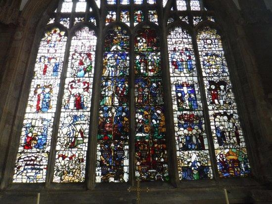 Newark-on-Trent, UK: Mediaeval window