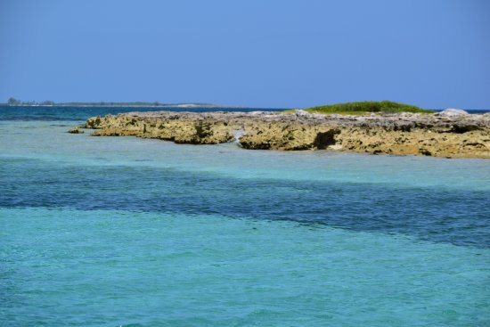 Chub Cay: This is about 10-miles away via boat.