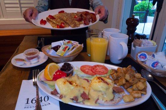 Auberge du Tresor: 朝食はボリューム満点!すっごく美味しいです。