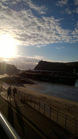Port Erin, UK: sunset