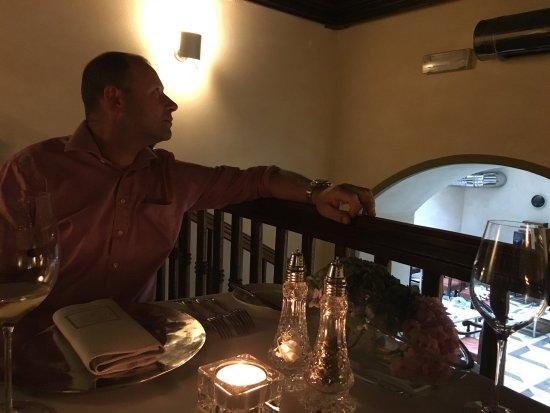 Hotel Copernicus: Romantic, cosy upstairs restaurant