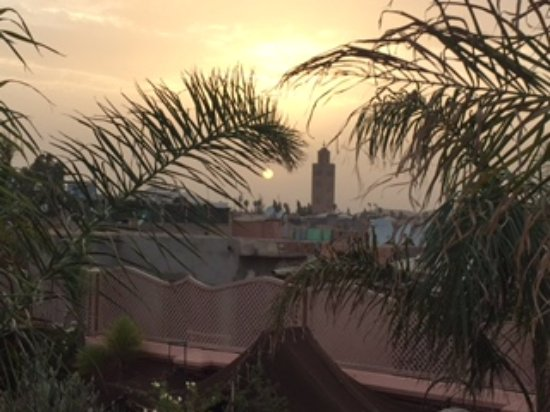 Riad Dar Anika: view from the roof terrace