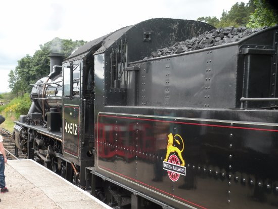 Aviemore, UK: Strathspey railway