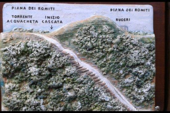 San Benedetto in Alpe, Italie : piantina