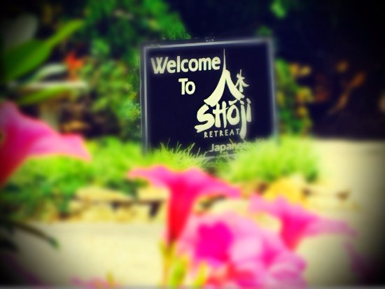 Shoji Spa & Lodge: Zen retreat in nature