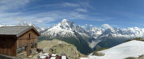 Argentiere, Frankrike: vue du refuge