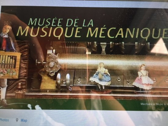 Musee de la Musique Mecanique : Zeker de moeite waard om eens te bezoeken wanneer het eens een mindere dag is om te wandelen of