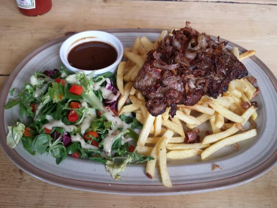 Bathford, UK: Steak frites