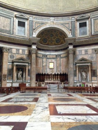 Rome Illuminated Guided Tours : Rome Pantheon...all by ourselves