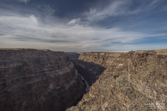Bruneau Canyon the deepest in Idaho
