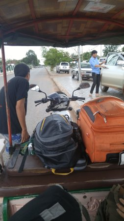 The Siem Reap Hostel: free Tuk Tuk pick up