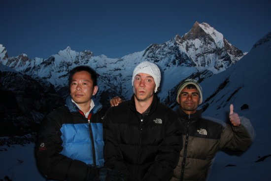 Kathmandu Valley, Nepal: Saraband, my guide (on the right side)