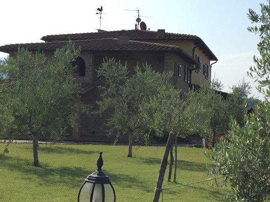 Agriturismo Savernano: Tranquility if you want it.