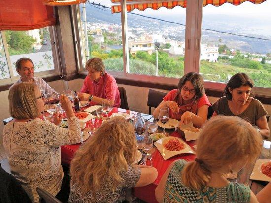 La Matanza de Acentejo, Espanha: Best location of the restaurant!