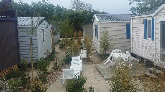 Penestin, Prancis: chemin d'acces et disposition des mobil homme