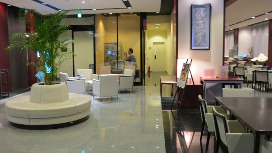 Dormy Inn Kumamoto: 餐廳及商務中心