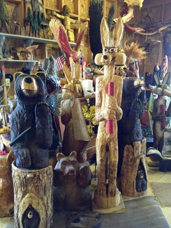Mancos, CO: Examples of Dave Sipe's Folk Art