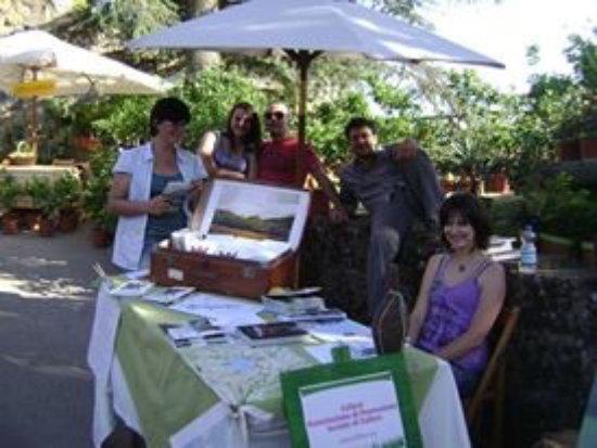 Cellere, Italia: L'accoglienza della Proloco