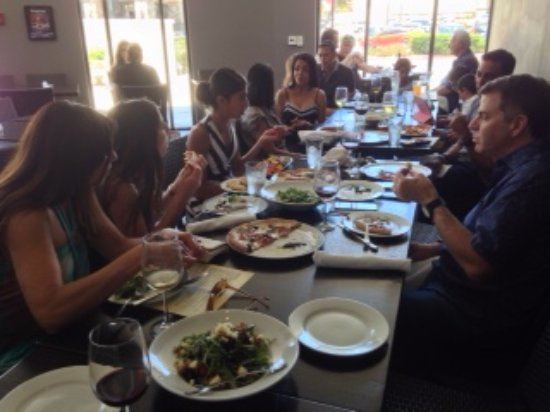 Angelina's Pizzeria: Father's day celebration [Grovers and Wellis enjoying}