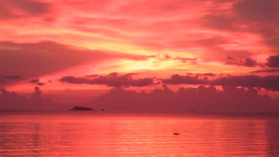 Angels Bay: the best sunset !