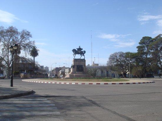 Paysandu, Uruguay: Vista de la Plaza Artigas