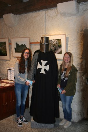 Ballyhack Castle: Meeting a Norman Knight