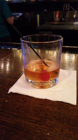 Winston Salem, NC: Manhattan - up in a whiskey tumbler. Ugh.