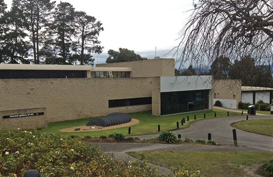 Wheelers Hill, Australia: The MGA (image left/centre) with the cafe and public library to the right