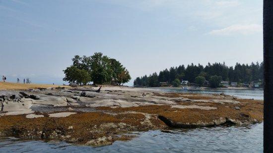 Nanaimo, Canada: Looking towards The Gap and Protection Island