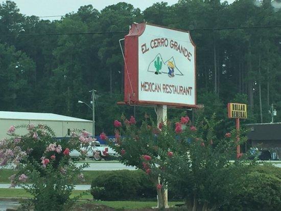 Havelock, Carolina del Nord: Signage