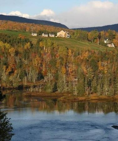 North River Bridge, Kanada: Chanterelle Inn Fall Colors View