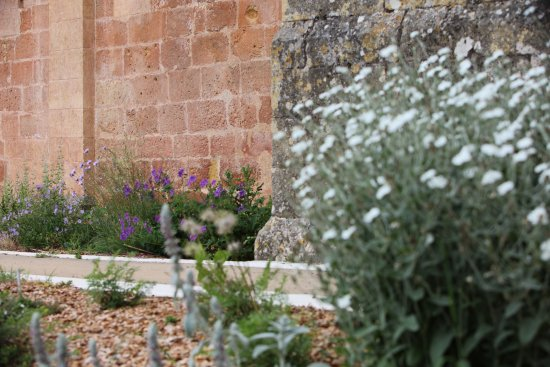Saint-Avit-Senieur, Frankrig: ruines klooster