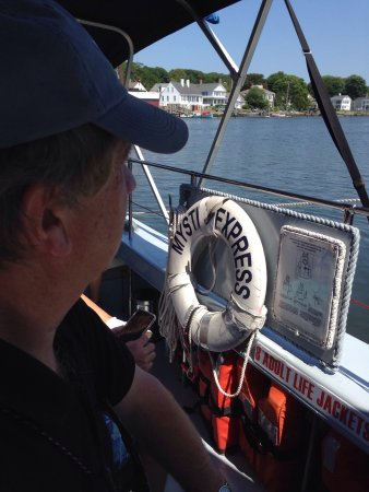 The Mystic Express: Historic Harbor Tour